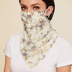Coming soon face masks with scarf